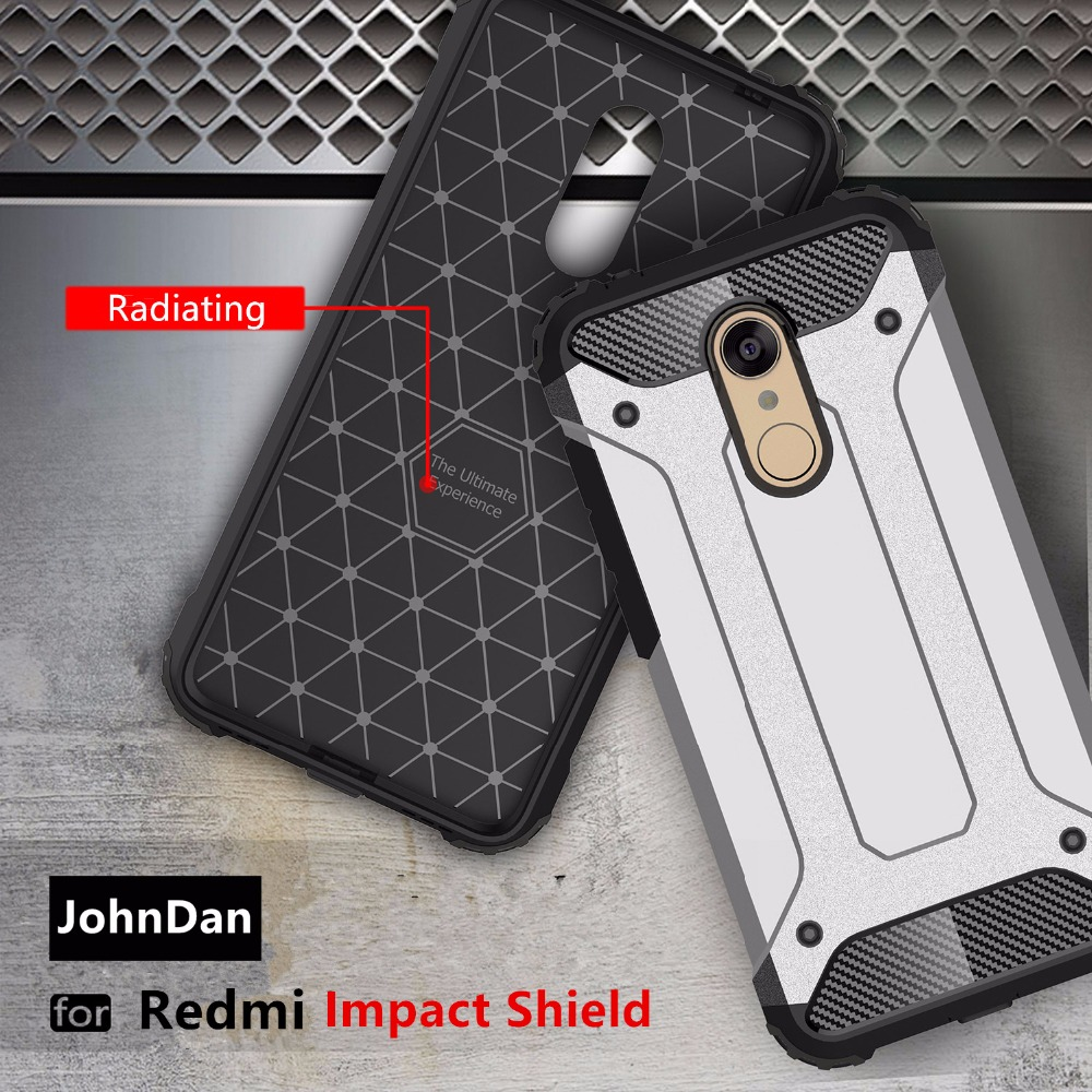 Xiaomi Redmi Note 3 Pro 5A 5 Plus PC+ Silicone Anti Shock Armor Case Xiaomi Redmi Red Mi Note 3 4 4X Pro Back Cover Case
