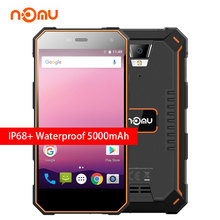Nomu S10 Pro Shockproof Smartphone 5.0 inch 5000mAh 3GB RAM 32GB Android 7.0 MTK6737T Quad Core 4G IP68 Waterproof Mobile Phone(China)