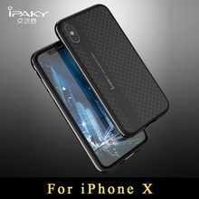 "Buy iPhone x case Original iPaky coque iphone 10 case Ultra Thin Armor PC Frame + silicone Back Cover iphonex case 5.8"" for $4.99 in AliExpress store"