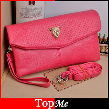 New Women Bags Wallets Double Zipper Soft PU Leather Lady Shoulder Bag Money Coin Purse Female Brand Messenger Totes Bags Purse(China)