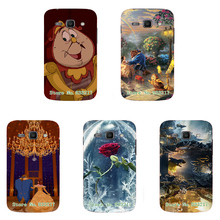vcustom 2017 Top Beauty And the Beast Phone Case Skin Cover White Hard Case Cover For Samsung Galaxy Ace 3(S7272) Case(China)