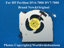 New and Original CPU fan for HP Pavilion DV6-7000 DV6 DV7-7000 DV7 laptop cpu cooling fan cooler DFS481305MC0T FBAV