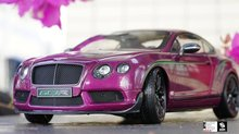 Diecast Car Model Almost Real Bentley Continental GT3-R GT3R 2015 China Limited Edition (Magenta) 1/18 + SMALL GIFT!!!!!