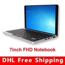 7-Inch GPD Pocket Windows 10 Portable mini notebook tablet PC Gamepad touch screen ALL-metal body computer UMPC Laptop 128GB