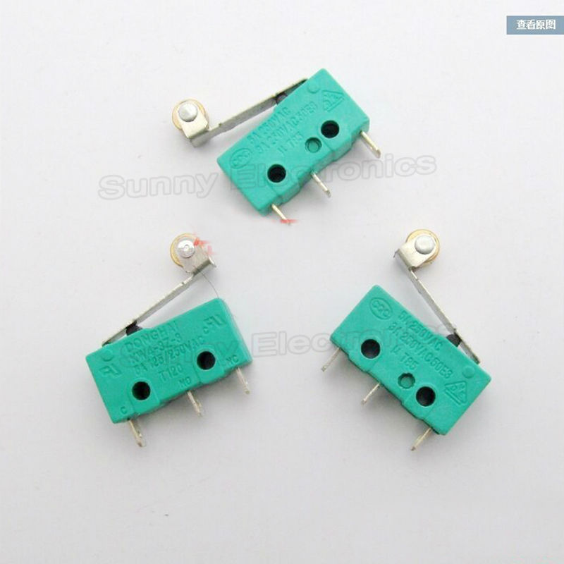 Micro Roller Lever Arm Normally Open Close Limit Switch<br><br>Aliexpress