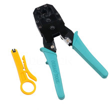Net Rj45 Crimper Alicate PC Network Hand Tools RJ12 RJ11 CAT5/5e Lan Cable Crimper Pliers Herramientas for 8P8C 6P6C 4P4 Plugs(China)