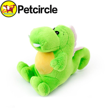 2017 Petcircle new Cute Dragon pet dog toys chihuahua yorkshire poodle chew squeaker toy plush dog toys squeakers free shipping(China)