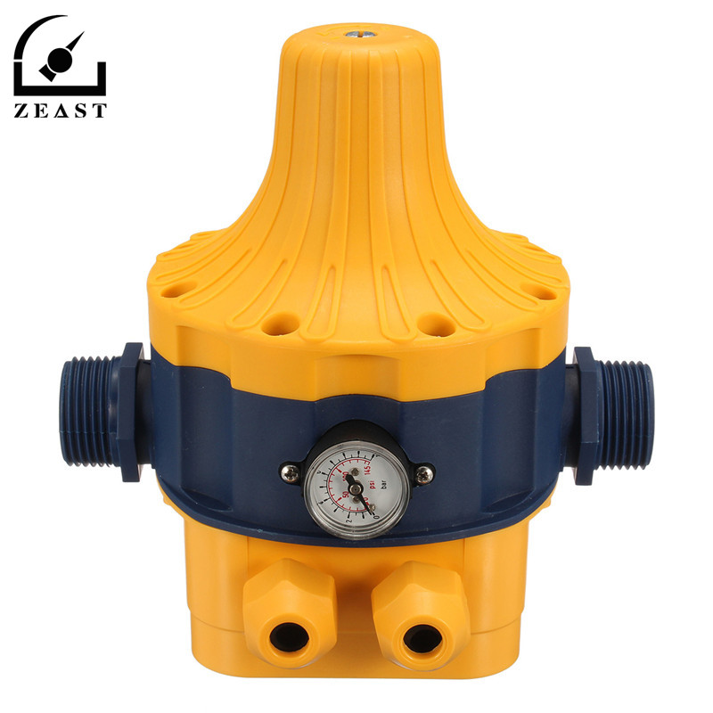 220V 1.5kg Automatic Booster Water Pump Pressure Controller Electronic Adjustable Switch Measurement Measuring Device<br>