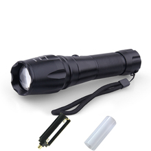 Promotion The Best Handhold Spotlight Shooting and Hunting Rechargeable Battery Lanterna Baton Retractable Torch Lighting HS305