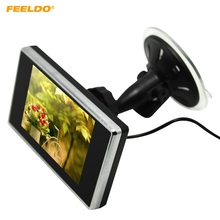 FEELDO Digital 3.5inch Windshield TFT LCD Reverse Car Monitor for DVD/VCR/VCD #FD-1321(China)