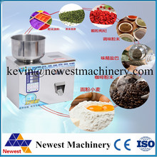 Best selling Tea powder Packaging Machine Grain Filling Granule Medlar Automatic Salt Weighing Machine Powder Seed Filler NT-20