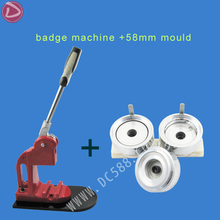 "[Badge machine suppliers]  Pin Button badge machine +2.1/4""(58mm) round badge mould"