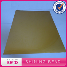 "Free Shipping Fame Crafts PU Heat Transfer Vinyl Bundle 10""x12"" Pack of Gold Color DIY T-Shirt Vinyl Transfer Sheets High Qualit"