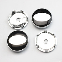 Hot Products 4pcs 58MM/60MM Auto wheel Center hub cap EMBLEM Cover free shipping for KIA Car Logo Badges Sticker(China)