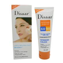 disaar sunscreen cream SPF 50 ++ moisturizing skin protect sunblock 80g face care prevents skin damage, remove pigmention spots