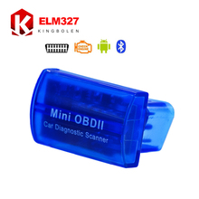 MINI OBD ii ELM327 Bluetooth  Latest V2.1 OBD 2 / OBD2 Wireless Car Diagnostic Scanner Multi-Language Work ON Android