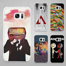 Radiohead Hard White Coque Shell Case Cover Phone Cases for Samsung Galaxy S4 S5 S6 S7 Edge Plus(China)