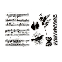 CCINEE Bird Style One Sheet Stamp VASE Design Seal For DIY Scrapbooking/Card Making/ Decoration Supplies