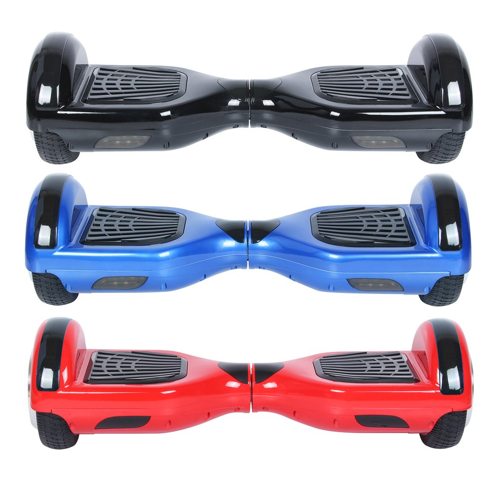 UL Certified Bluetooth Speaker 6.5 Inch Self Balancing Electric Scooter LED Electric Skate Board Remote Controll US Plug