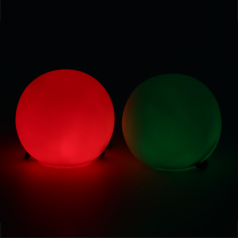 1PC LED Multi-Coloured Novelty Light Glow Thrown Balls Light Up For Belly Dance Hand Props Stage Performance Accessories