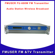 FMUSER FU-600A 600W Professional FM Exciter and Broadcast FM Radio Transmitter 87.5-108 MHz cover 15KM-25KM  Free Shipping