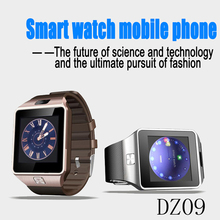 KAISGO DZ09 Men Sport Smart Watch Wearable Devices with Camera SUPPORT Sim Card Bluetooth 3.0 Smartwatch for Android Apple Phone