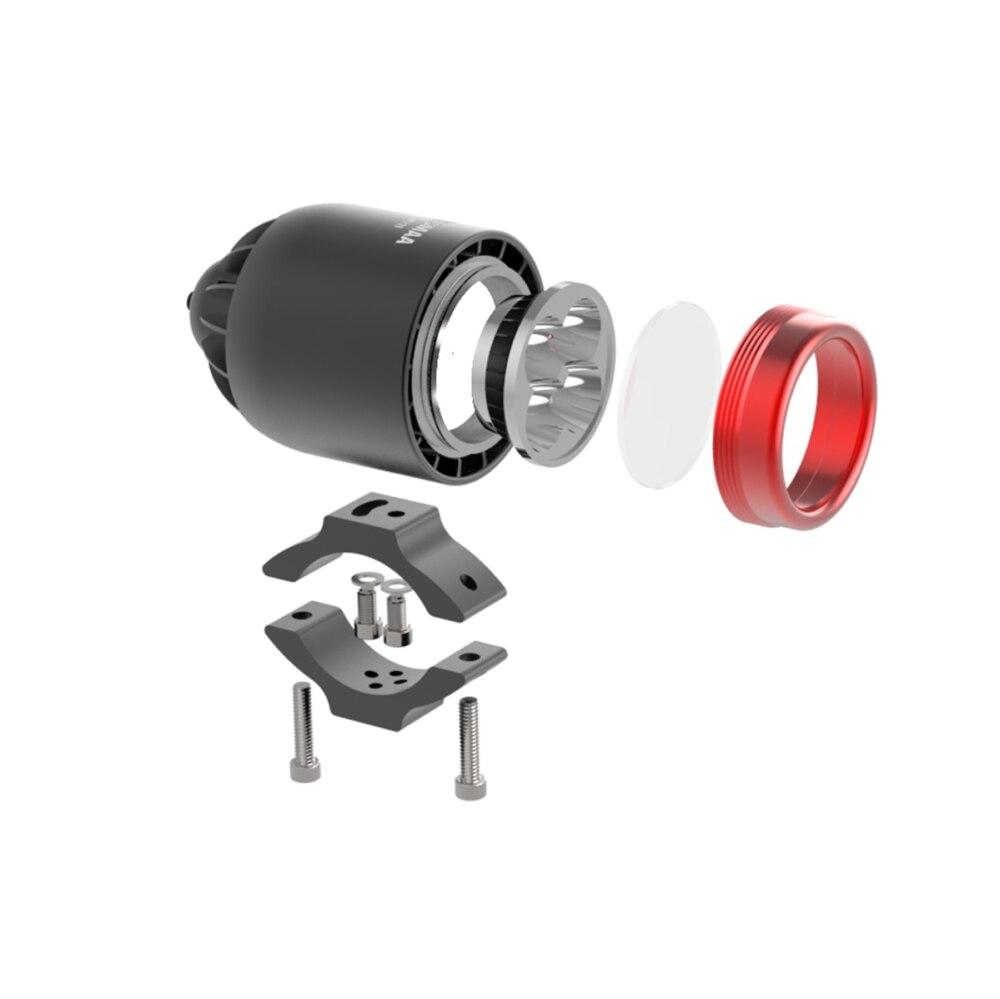 22 M211 motorcycle led headlight