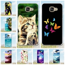 For Coque Samsung A5 2016 Case Cover Printed Pattern hoesjes Etui Soft Silicon Phone Case For Fundas Samsung Galaxy A510 a5 case