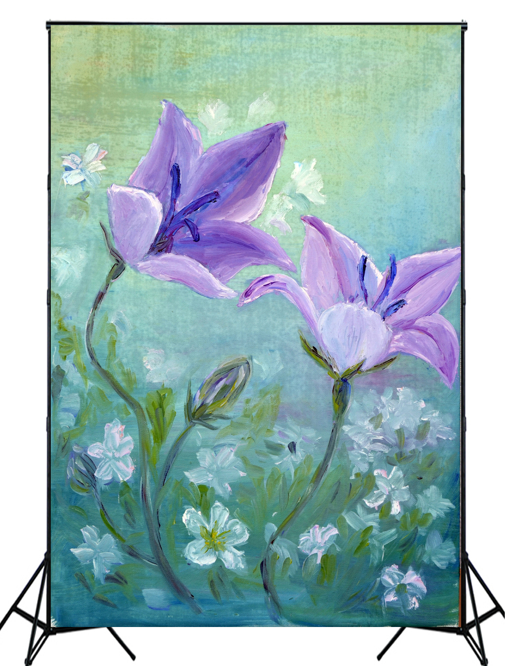 2016 New arrival digital oil painting flower photography backdrops photo background for newborn photo XT-4190<br><br>Aliexpress
