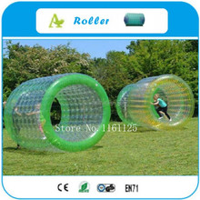 Free shipping 100%TPU inflatable water walking ball/ water paly equipment water roller ball aqua rolling ball/zorb ball(China)