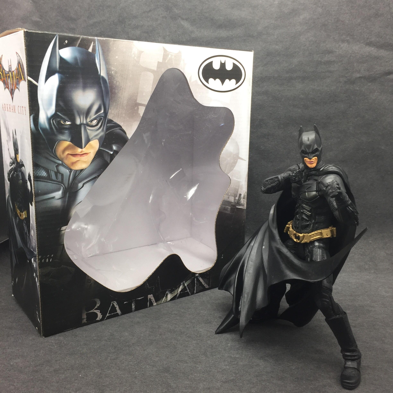 1pcs Superman V Batman Justice League Gray Movable The Dark Knight Marvel Rises Avengers Super Hero PVC 19cm Figure<br><br>Aliexpress