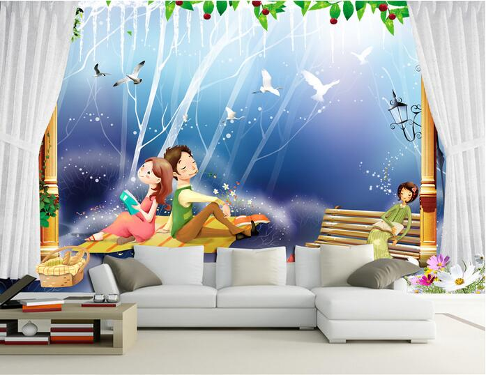 3d wallpaper custom mural non-woven 3d room wallpaper 3 d cartoon lovers children room painting photo 3d wall mural wallpaper<br>