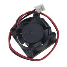 Gdstime 5 pcs 25mm x 25mm x 10mm DC 12V 2Pin Brushless Small Mini Cooling Cooler Fan for PC Chipset VGA Video