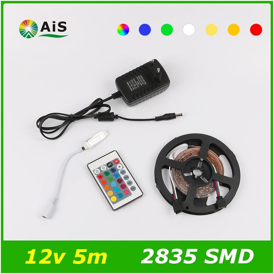 LED Strip + Power Supply RGB 12V 2835