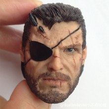 Custom hot 1/6 Scale Head Sculpt Old Snake 2.0 Metal Gear 5 Solid toys