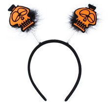Halloween Skull Headband Hairband Fancy Dress Headpiece Costume Hair Accessories