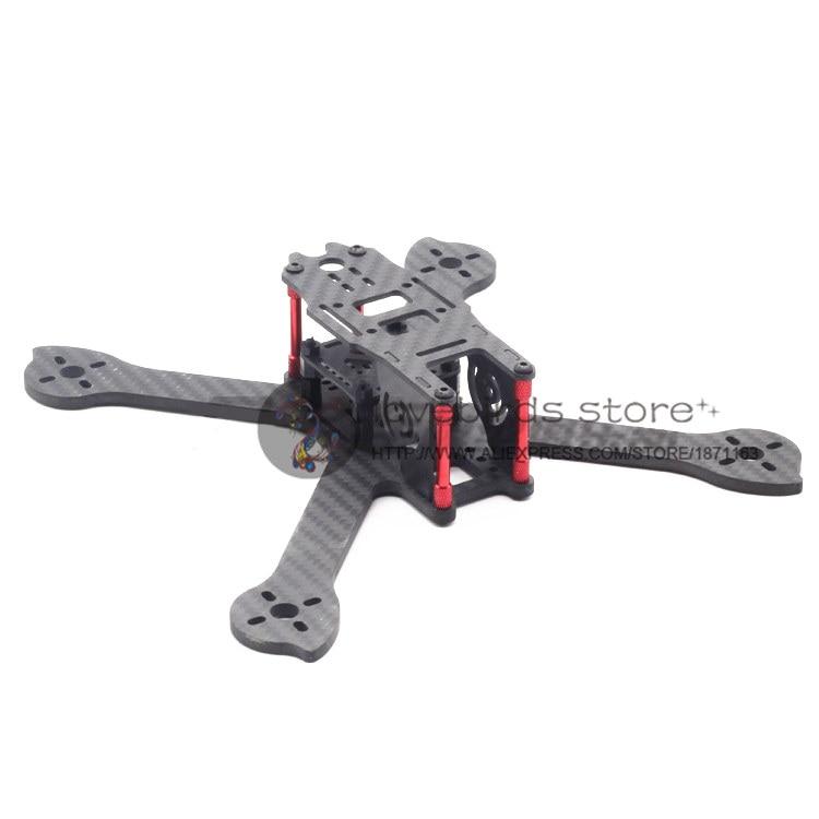 DIY mini FPV drone LBS-IX5 210mm 5 pure carbon fiber frame unassembled<br>