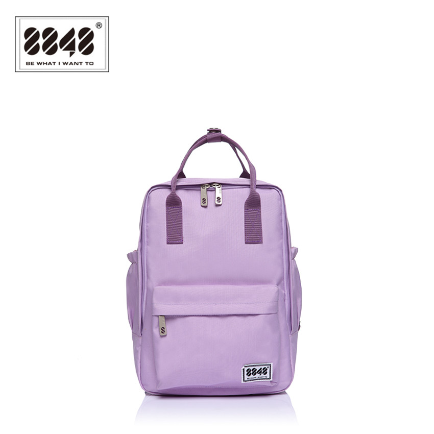 8848 Brand Backpack Purple Women School Bag Casual New Arrival Winter Fashion Small Soft Handle Travel Shopping Bag S15008-7<br><br>Aliexpress