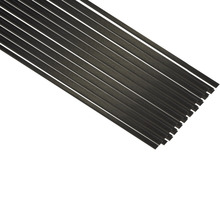 10pcs 0.5mmx3mmx500mm Carbon Fiber Strip Bar For RC Airplane Model