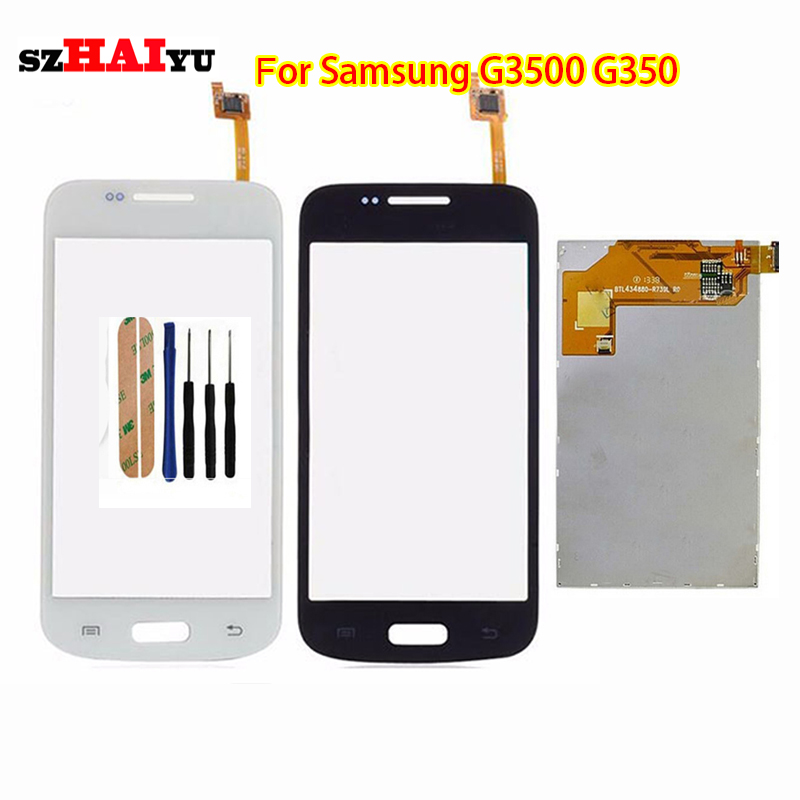 Free Shipping Test Original LCD Touch Panel for Samsung Galaxy Core Plus G3500 G350 Display Touch Screen Digitizer Panel<br><br>Aliexpress