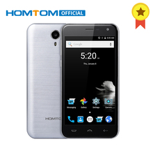 Original HOMTOM HT3 5.0 Inch Android 5.1 3000mAh Smartphone 1GB RAM 8GB ROM Cell Phone MTK6580A Quad Core Unlocked Mobile Phone(China)