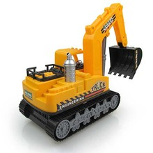 High Quality Simulation Large Excavator Engineering Car Model Toy Child Toy Car Car-styling Inertial Car Truck(China)