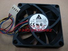 original package units up for (Delta )AFC0712DD Four-wire PWM High to7020 Cooling fan