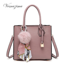 VZ bags handbags black ladie's handbag top-handle tote pink women handbags for girls shoulder crossbody bags black satchel 181N