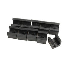 10PCS Billiards Snooker Cue Locating clip Holder for Pool Cue Racks Set BHU2(China)
