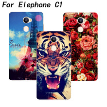 "Buy Elephone c1 Case Cover Luxury Diy Tiger Owl Cat Rose Eiffel Tower UV Painted Hard PC Back Cover elephone c1 5.0"" Cases for $3.50 in AliExpress store"