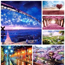 1000 piece cartoon fantasy scenery love tree landscape paper puzzles for adult DIY attractions jigsaw puzzle toys