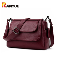 Luxury Brand Genuine Leather Bag Designer Handbags High Qualiry Single Shoulder Bag Women Messenger Crossbody Bags Tote Bolsos(China)