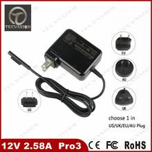 Welcome Bulk Order Top Quality 12V 2.58A power adapter charger for Microsoft Surface Pro 3 Magnetic interface Tablet Charger
