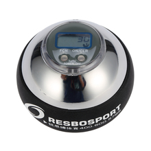 Ebuy360 Resbo 12000 RPM Hand Spinner Gyroball Gyroscope Counter Sports Fitness Gyro Ball Exerciser Power Ball Powerball Metal